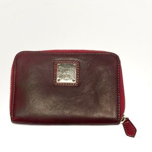 Dooney & Bourke Small Maroon Wallet